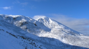 Croagh Patrick in the Snow