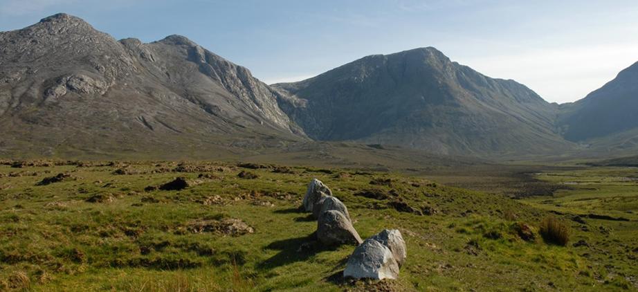Stone Row Gleninagh Valley