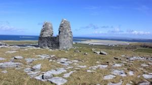 Teampall Beannain near Killeany Aran Islands